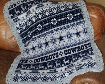 Dallas Cowboys Baby, Toddler Blanket