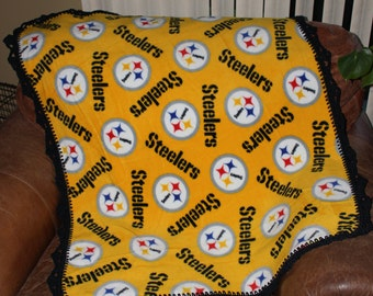 Pittsburgh Steelers Baby, Toddler Blanket