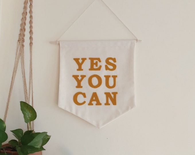 Featured listing image: yes you can banner