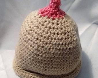 Crochet Boob Beanie  28d0c7e87fd