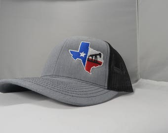 finest selection acda4 52c45 Richardson Oilfield Drilling Rig Texas Snapback Hat, Trucker Cap,  Adjustable Custom Hat for both Women and Men