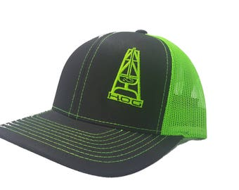 64b95599a16 Richardson HOOey HOG Oilfield Snapback Hat