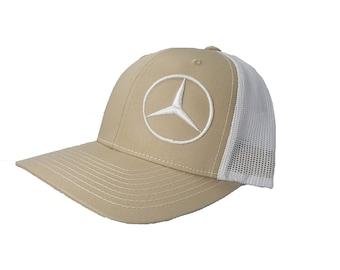 Richardson Mercedes Benz Logo Snapback Hat 46c6b1aaf5ed