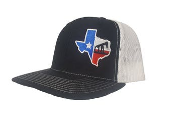 Richardson Oilfield Drilling Rig Texas Snapback Hat c5eef11e6f4