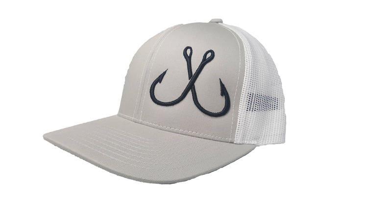 18ea33a36b77c Richardson Fishing Hooks Snapback Hat Trucker Cap Adjustable | Etsy