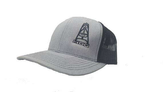 3470654f220 ... Richardson HOOey HOG Oilfield Snapback Hat Trucker Cap Etsy classic fit  27a32 16bfd ...