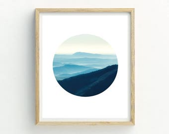 Modern Landscape Print | Mountain Print | Mountain view picture | Mountain picture | Office Wall Art | Landscape Wall Art | Landscape Photo