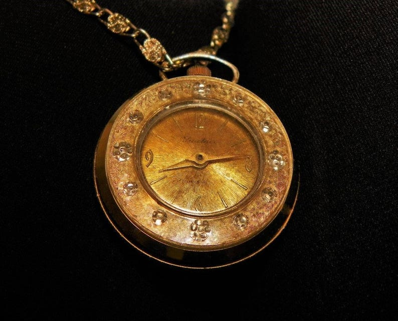 Helpful Wind-up Watch Necklace Necklace Watches Jewelry & Watches
