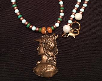 Renaissance Hermes Gemstone Necklace