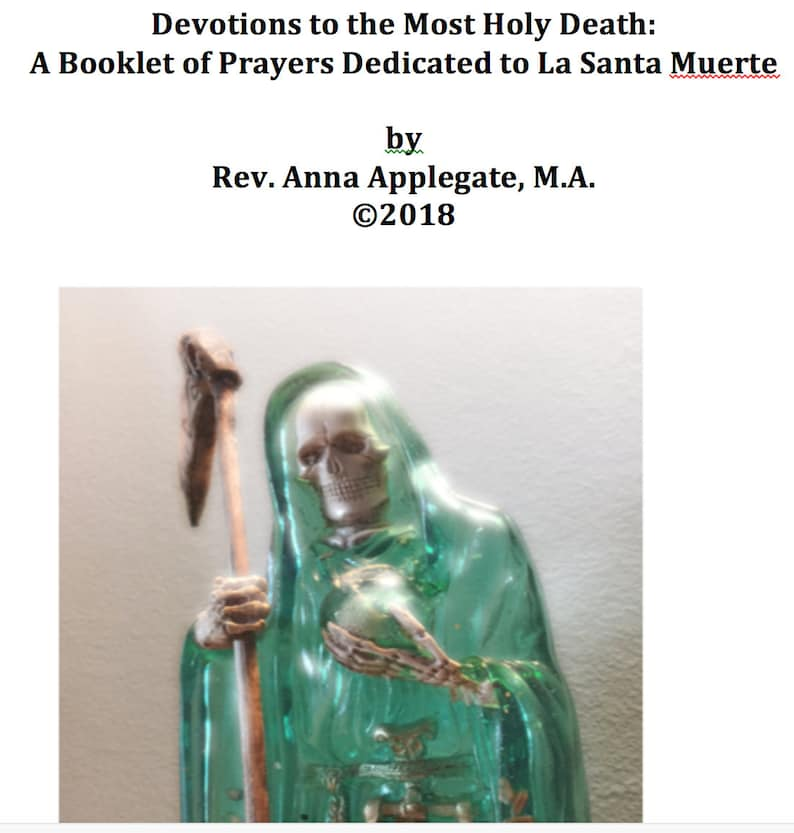 La Santa Muerte Prayer Booklet PDF (English)