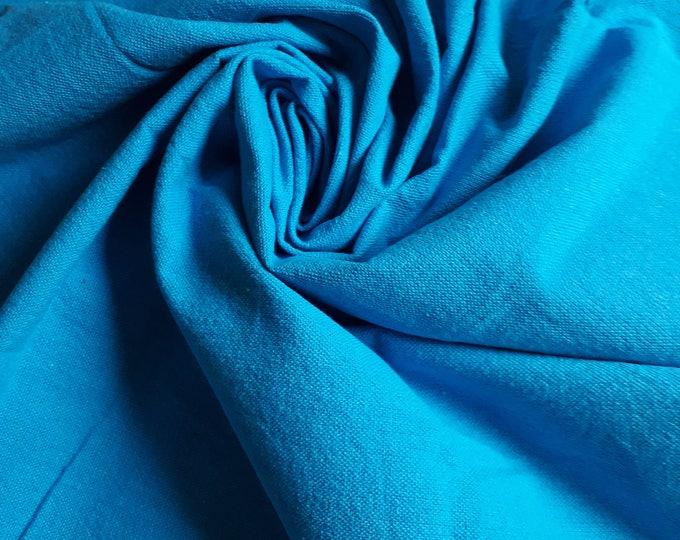 Tissu coton épais mers du sud uni solide. 100% coton. Fabriqué en Egypte. Toile pour la confection de sac. Matelassage patchwork
