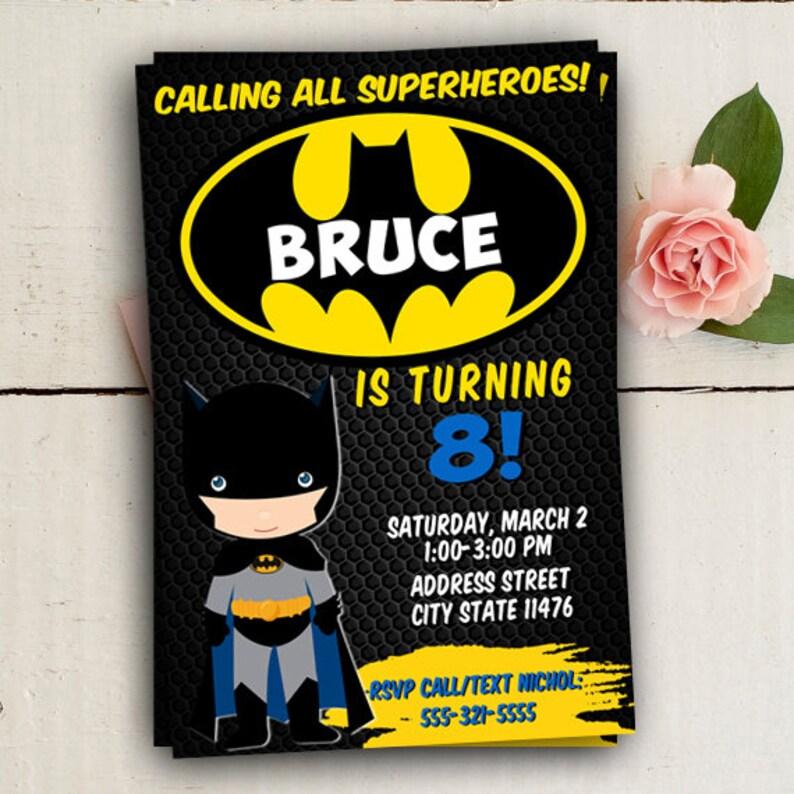 Tarjetas De Batman Para Cumpleanos