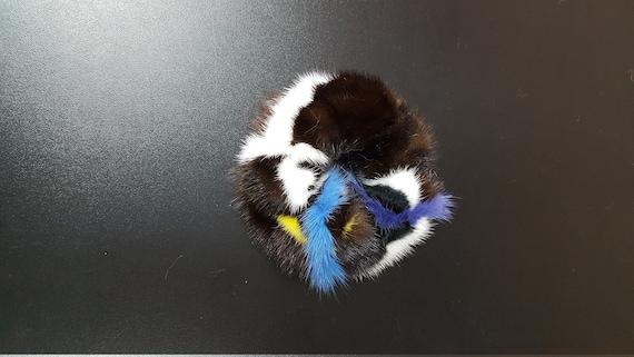 Real mink Fur hairband, hair accessory, Ponytail Holder, Fur Scrunchie, mink hairband, hairband, hairband handmade