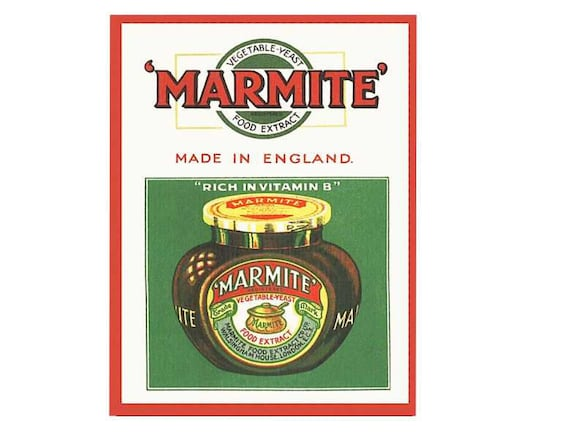 Marmite Vintage advertising  Poster reproduction