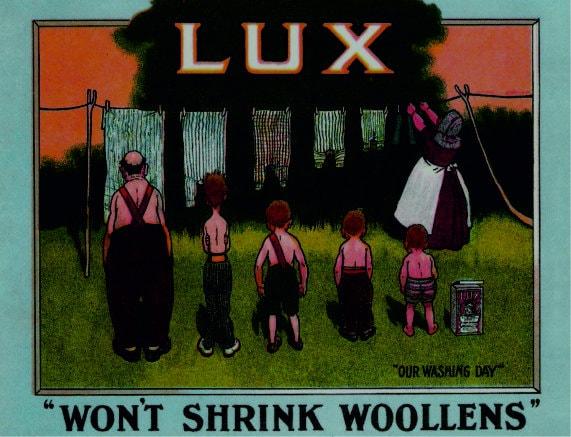 Lux Soap Retro Repro Metal Decor Sign
