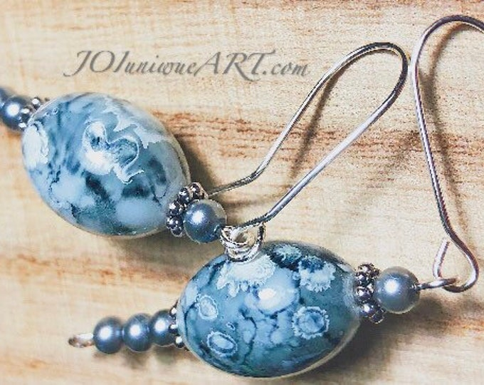 Earrings. Fashion Beautiful Jasper EARRINGS, jewelry.Gift idea.