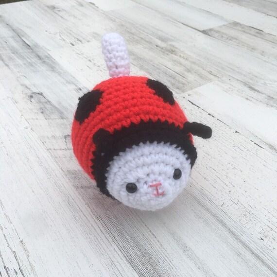 Amigurumi Pattern - Dotty the Ladybug - English Version (avec ... | 570x570