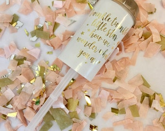 Gold Gender Reveal Poppers