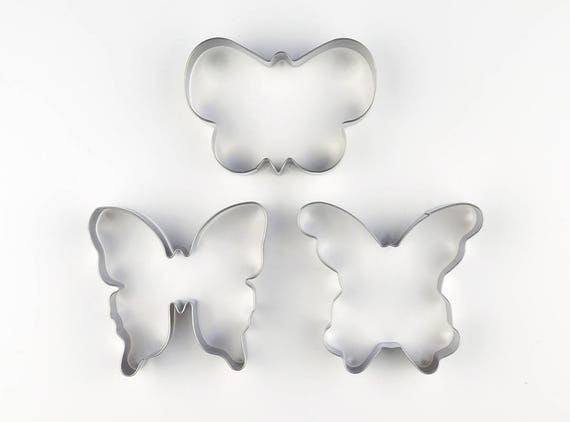 Icing Dough Cutters Pastry Insect Value Butterfly Cookie//Fondant Cutter Set
