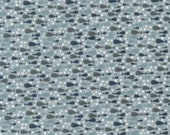CLEARANCE Ship to Shore 706903-70 Fish by Lynette Anderson Fabric Collection Sold Per Long Quarter Metre Yard (Add 4 in Qty Box)