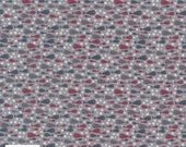 CLEARANCE Ship to Shore 706903-110 Fish by Lynette Anderson Fabric Collection Sold Per Long Quarter Metre Yard (Add 4 in Qty Box)