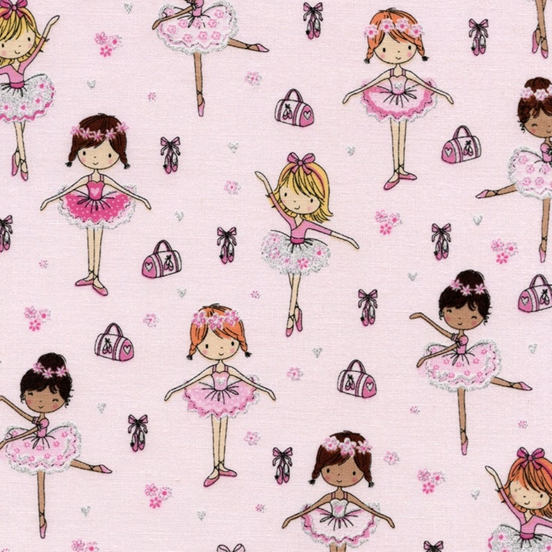 Timeless Treasures Fabric Petal Purrfect Cats Pink HALF METRE