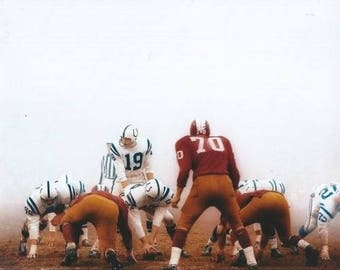 d0bf84df3 Johnny Unitas Baltimore Colts Louisville Hall of Fame HOF 8x10 photo