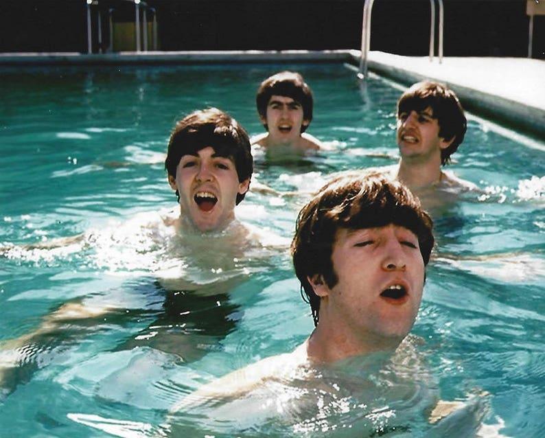 """The Beatles John Lennon 11x14/"""" Photo Print"""