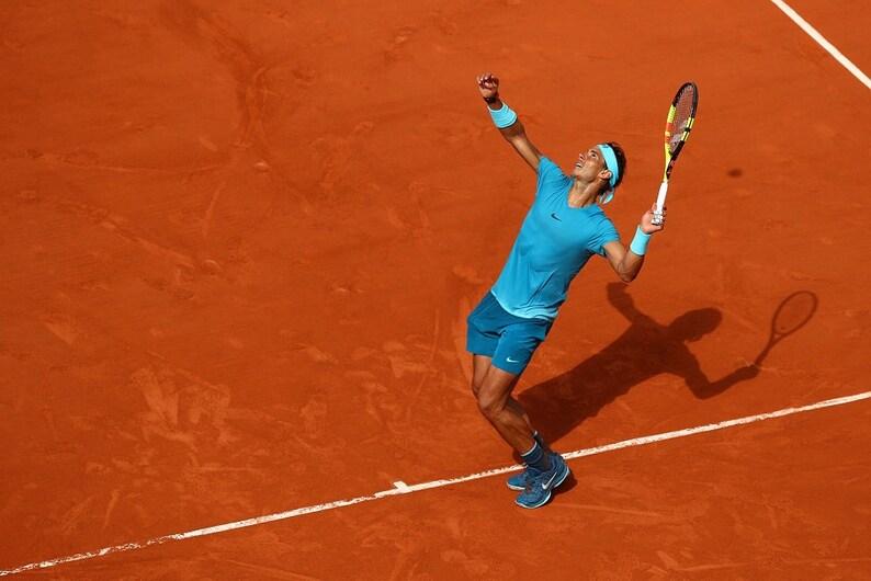 Rafael Rafa Nadal 2 Spanish Professional Tennis Player Legend Champion Poster
