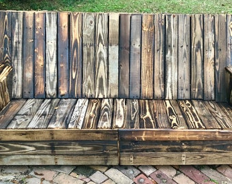 Wood Patio Furniture Etsy