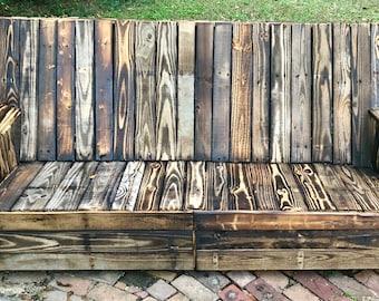 Wood Patio Furniture Etsy