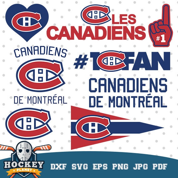 Canadiens de montr al hockey team hockey logos hockey game etsy - Logo des canadiens de montreal ...