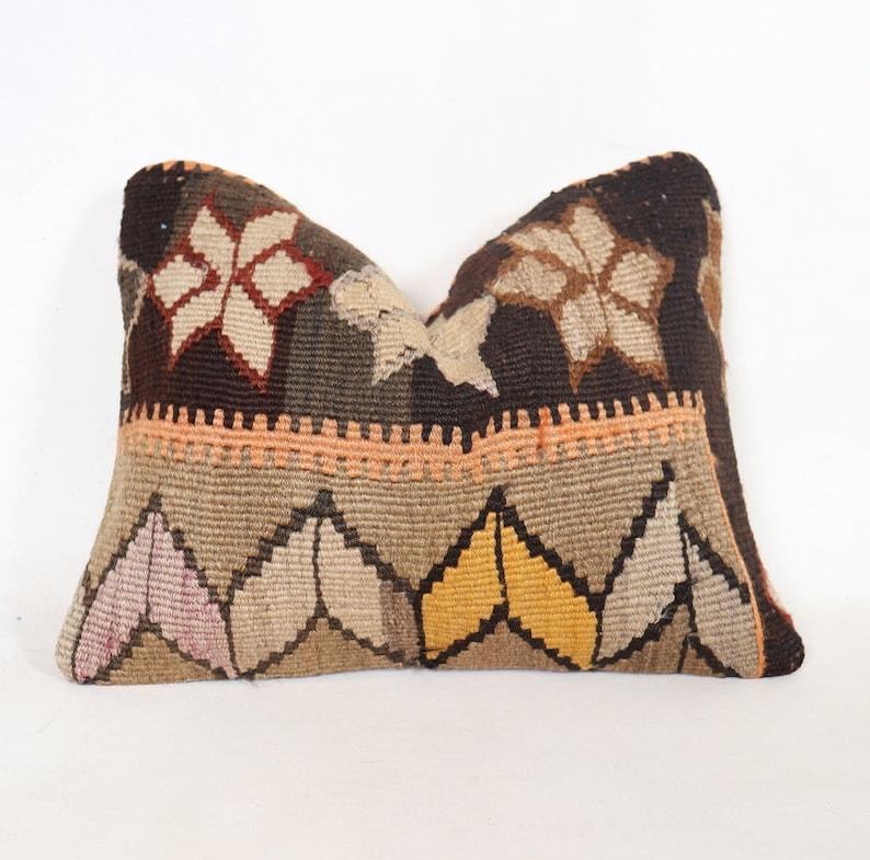 Decorative Kilim Pillow Kilim Pillow Kilim Pillow Case, 12x16 inch,Turkish Kilim Pillow 40x30 cm Cushion Cover Vintage Kilim Pillow