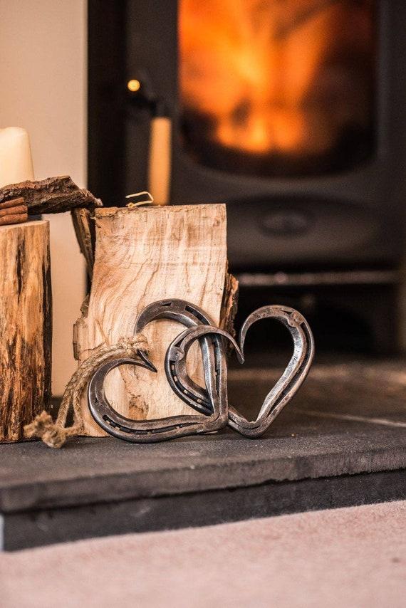 Verbunden Hufeisen Herzen mit Jute-Seil-perfekt für Hochzeiten | Etsy