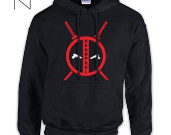 e2d05ccd4 Deadpool hoodie   Etsy