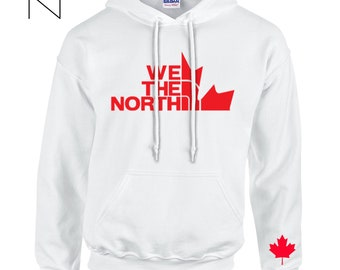 a0cfabd5988 WE THE NORTH Toronto Raptors Basketball Unisex Hoodie