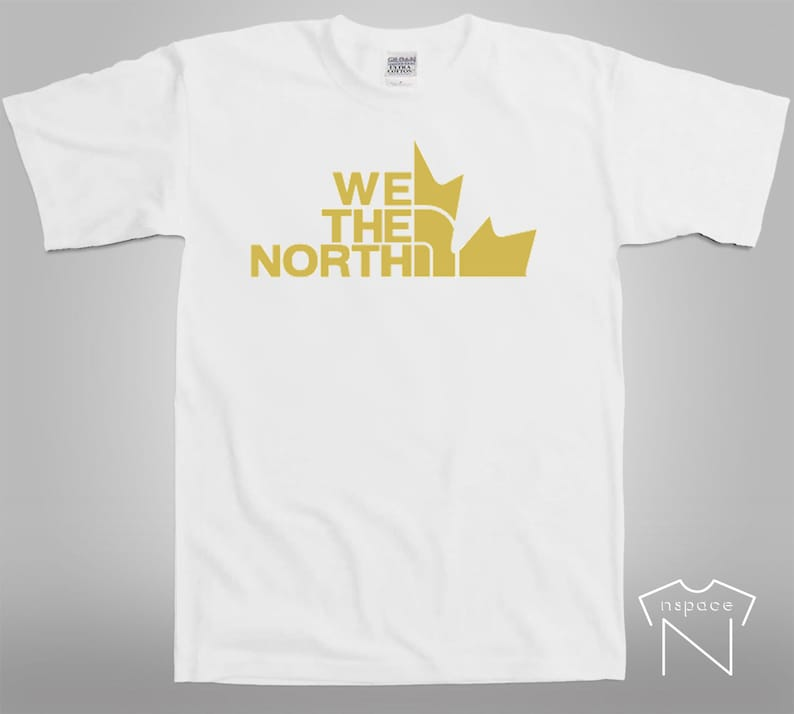 ec0bc690318 WE THE NORTH Toronto Raptors Basketball Graphic Tee | Etsy