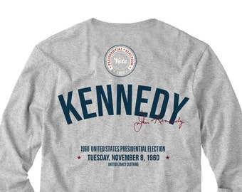John F Kennedy JFK Heat-Press T-Shirt Transfer