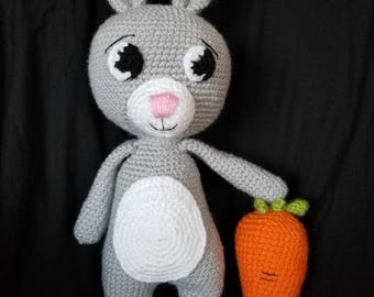 Amigurumi Bunny- made to order