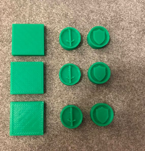 Settlers Of Catan Replacement Game Pieces For Cities And Etsy