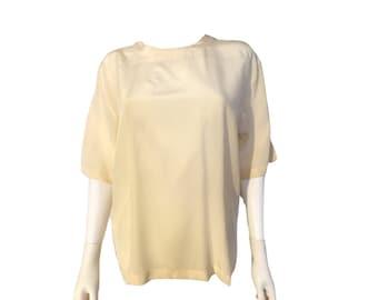 2a4822c571b10 Silk blouse vintage