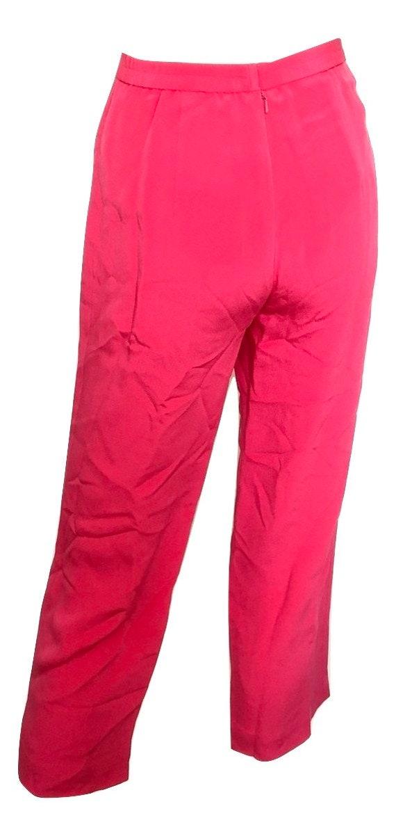 Vintage Hot Pink Silk Suit, Vintage Silk Suit, Pi… - image 6