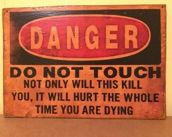 Safety Sign Etsy