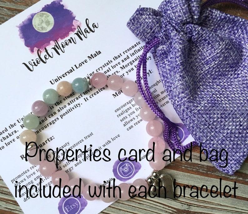Mala Bracelet Women Best Selling Item Celestial Jewelry Watermelon Tourmaline Bracelet Aventurine Jewelry Inspirational Gift