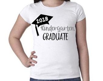 Kindergarten Graduate T-Shirt; Kindergarten Graduation Outfit; Graduation; Little Graduate; Kindergarten Graduation; Trendy Kids Clothes