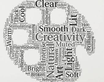 Art Studio Wall Art, Gifts for Creatives, positive art, printable wall art, creatives, studio decor, creative decor, printable decor