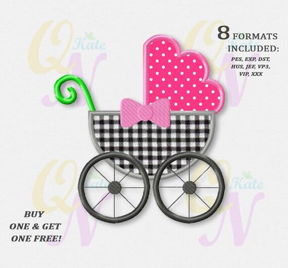 BOGO KOSTENLOS Kinderwagen Applikation Stickerei Design Baby | Etsy