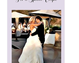 Wedding Card, Jehovah's Witnesses, JW