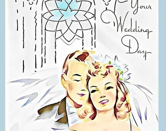 JW, Wedding, Jehovah's Witnesses, gift, greeting card