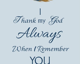 JW, thank you card, Jehovah's Witnesses, gifts